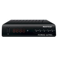 Ресивер цифровой World Vision Foros Ultra (DVB-T2/S2)